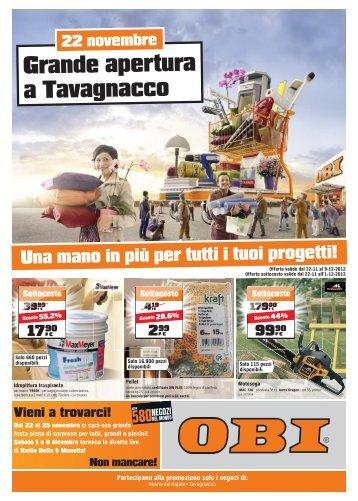 Grande apertura a Tavagnacco - Obi