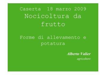 Nocicoltura da frutto - Regione Campania