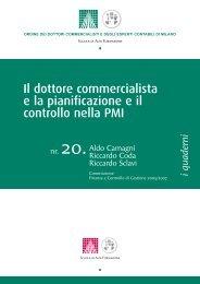 Il budget per le piccole e medie imprese - Riccardo Sclavi dottore ...