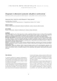 Disgnazie e alterazioni posturali: attualità e controversie