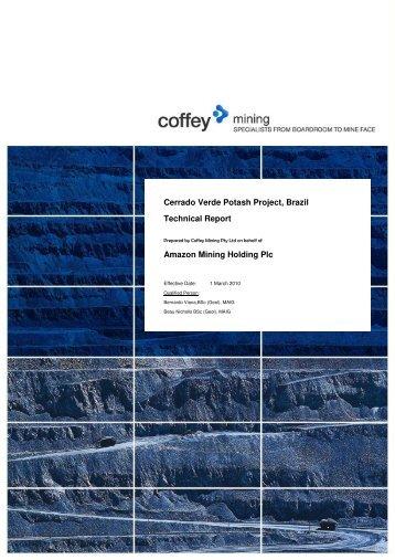 Resource Report (PDF 4.63 MB) - Verde Potash Plc