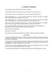 Regolamento dei Contratti - Comune di San Cassiano