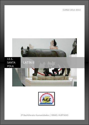 LATÍN II - La Columna Lactaria