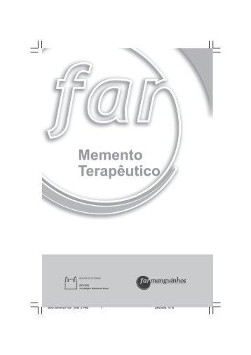 Memento Terapêutico - Farmanguinhos - Fiocruz