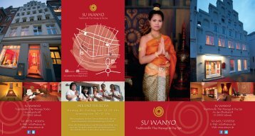 Flyer Su_.indd - Su Wanyo   Traditionelle Thai Massage & Spa