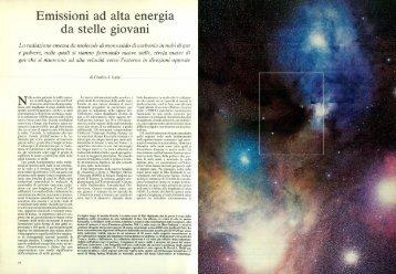 Emissioni ad alta energia da stelle giovani - Kataweb