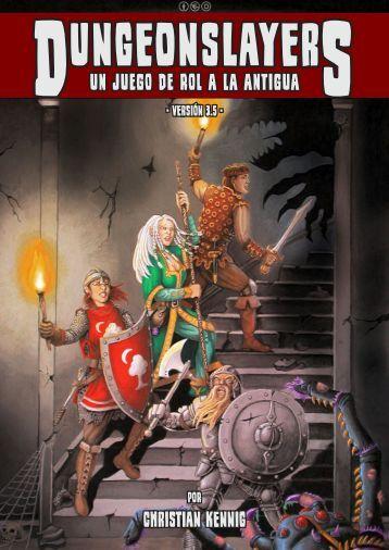 un juego de rol a la antigua - Dungeonslayers