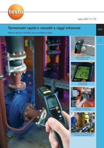 Termometri rapidi e versatili a raggi infrarossi - Tecnopound