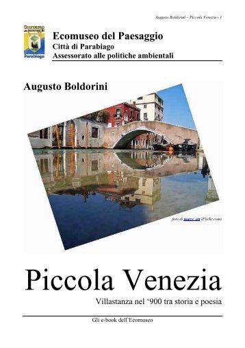 Piccola Venezia - Ecomuseo e Agenda 21 Parabiago