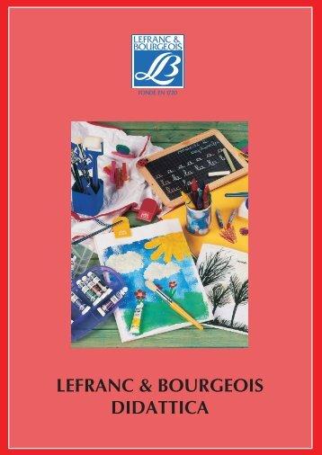 LEFRANC & BOURGEOIS DIDATTICA - Colorisottini.It
