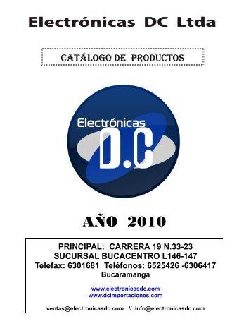 catálogo de productos - DC Importaciones