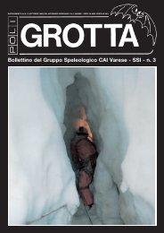 Bollettino del Gruppo Speleologico CAI Varese - SSI - n. 3