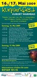Kurparkfest - Warmbad