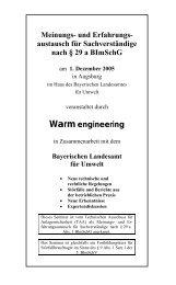 1. Dezember 2005, Bayerisches Landesamt für Umwelt - Warm ...
