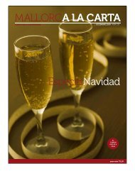 EspecialNavidad - Mallorca a la Carta
