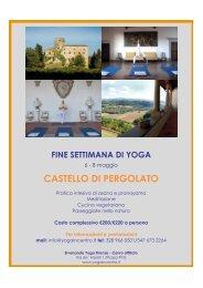 CASTELLO DI PERGOLATO - Sivananda Yoga Firenze