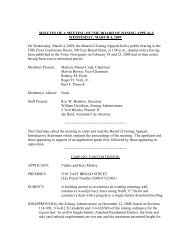 MINUTES OF A MEETING OF THE BOARD OF ... - City of Richmond