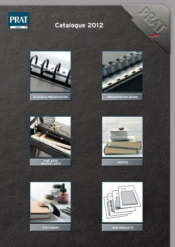 Presentation Books refillable - prat fabrications
