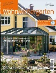 Ratgeber Wohnwintergarten 2010 - Bundesverband Wintergarten eV