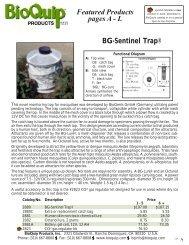 BioQuip Equipment Catalog - Nature | Where knowledge meets ...