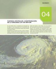 FUERZAS CENTRALES. COMPROBACIÓN DE LA ... - McGraw-Hill