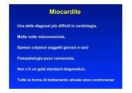 Lezione Miocardite e malattia del pericardio - Cuorediverona.it