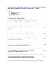 Guía de Estudio Fisiopatología de las Enfermedades del Pericardio