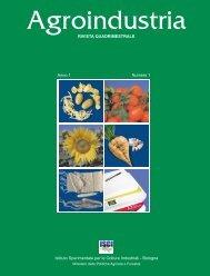 Anno 1 Numero 1 - Research Institute for Industrial Crops