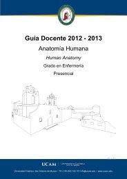 Anatomía Humana - Universidad Católica San Antonio de Murcia
