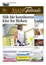 Åsane Tidende 15 mars - Nordhordland Skiklubb