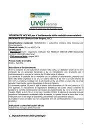 PROXIMATE HCS Kit per il trattamento della malattia ... - Uvef