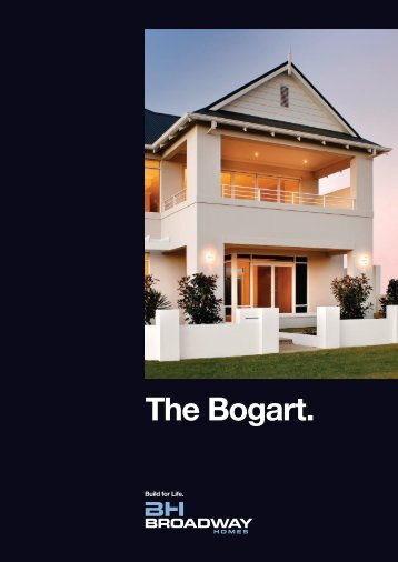 The Bogart. - Broadway Homes
