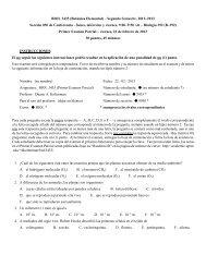 Primer examen parcial - II, 2012-2013 - UPRM