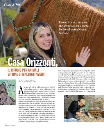 il rifugio per animali vittime di maltrattamenti - Casa Orizzonti