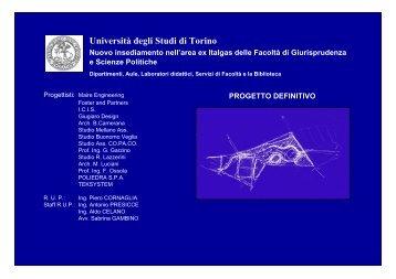Presentazione dell'opera - Università degli Studi di Torino