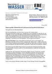 Bayerische Staatsregierung Ministerpräsident Dr. Edmund Stoiber ...