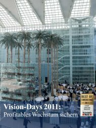 Vision-Days 2011: - Wassermann AG