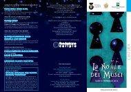 La No e dei Musei - Musei e beni culturali del lodigiano