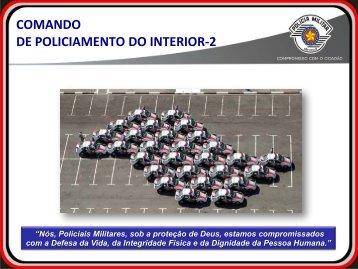 Comando de Policiamento do Interior-2 - Desafios da ... - Unicamp