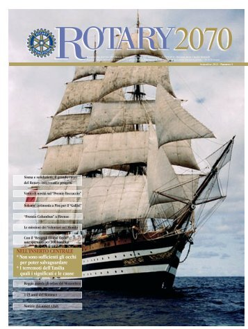 Settembre 2012 - Rotary International - Distretto 2070