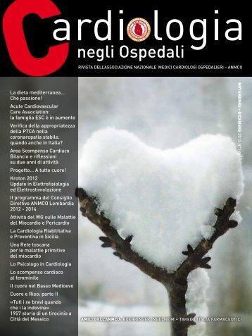 Cardiologia negli Ospedali n° 190 Novembre / Dicembre ... - Anmco