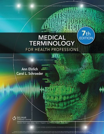 Medical Terminology for Health Professionals, 7th ed. - Cengage ...