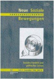 Vollversion (6.85 MB) - Forschungsjournal Soziale Bewegungen