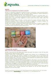 MIRODÌA Laboratorio artigianale di cosmetica naturale L'ESSENZA ...