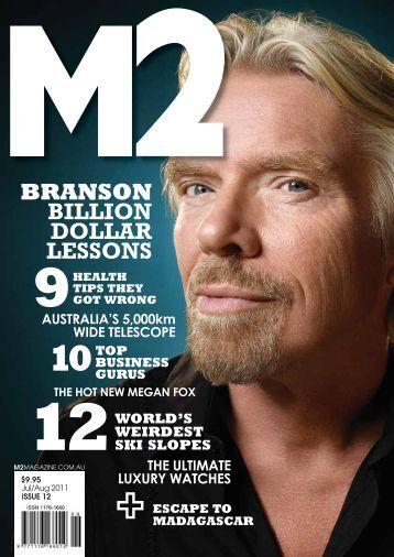 BRANSON BILLION DOLLAR LESSONS - M2 Magazine