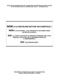 Dossier d'information MIR/GAC: restitution-réparation (pdf)