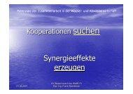Synergieeffekte erzeugen