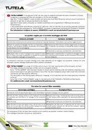 Le quattro regole per il corretto montaggio dei filtri For ... - Oleoblitz