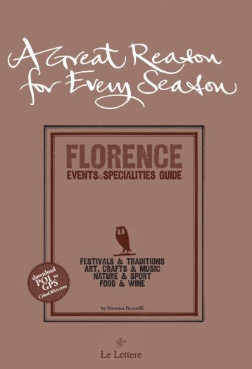 Click here for a preview of the guidebook of Florence - Communicart