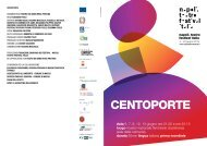 CENTOPORTE - Napoli Teatro Festival